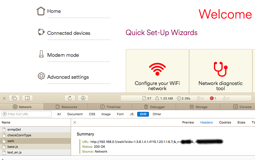 Arris Cable Modem SNMP Enumeration   Netscylla's Blog